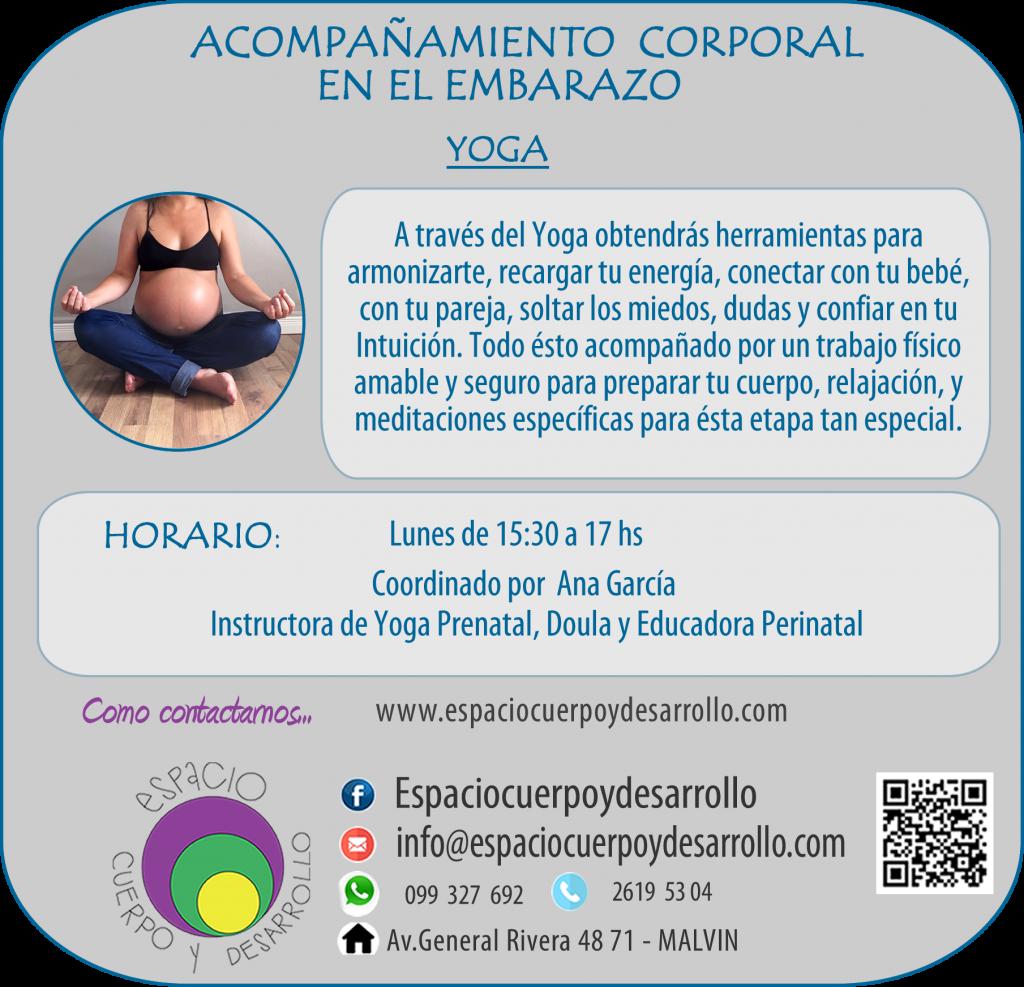TRABAJO CORPORAL yoga