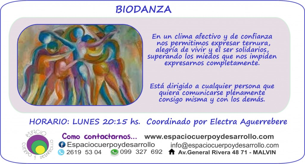 biodanza Febrero 2